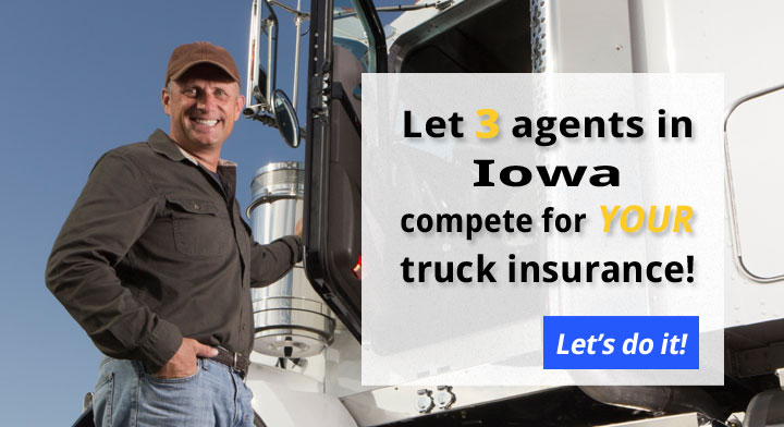 3 Iowa Commercial Truck Insurance Quotes