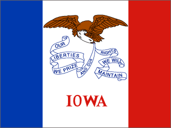 IA state flag