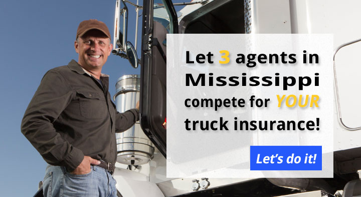 3 Mississippi Commercial Truck Insurance Quotes