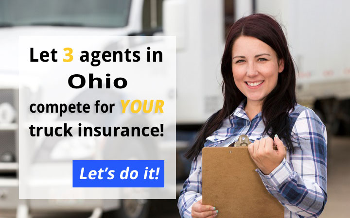 3 Ohio Commercial Truck Insurance Quotes