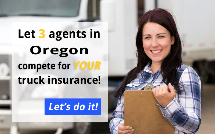 Oregon Commercial Truck Insurance Quotes
