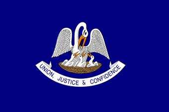 LA State Flag