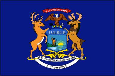 MI state flag