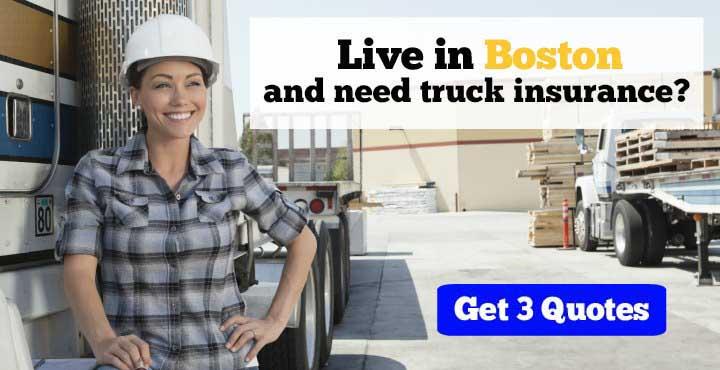 Trucking Insurance in Boston, MA
