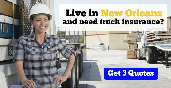 Trucking Insurance in New Orleans, LA