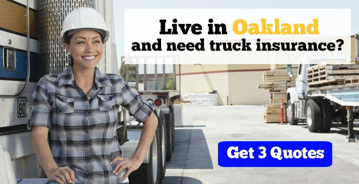 Trucking Insurance in Oakland, CA