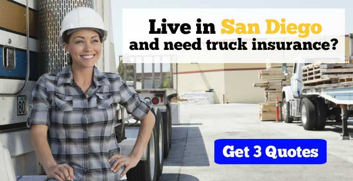 Trucking Insurance in San Diego, CA