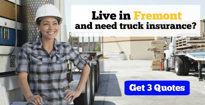 Fremont trucking insurance quotes