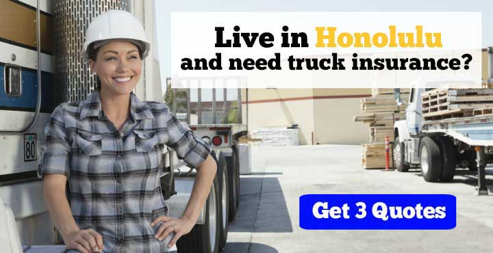 Honolulu trucking insurance quotes