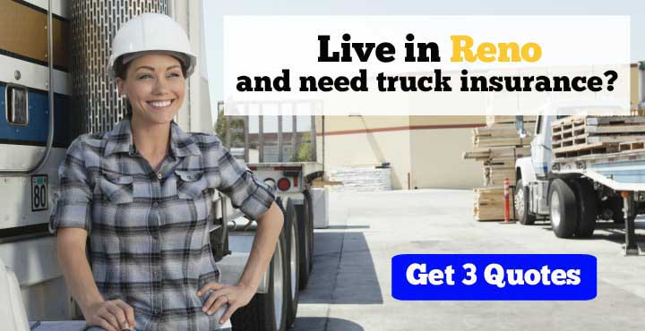 Reno trucking insurance quotes