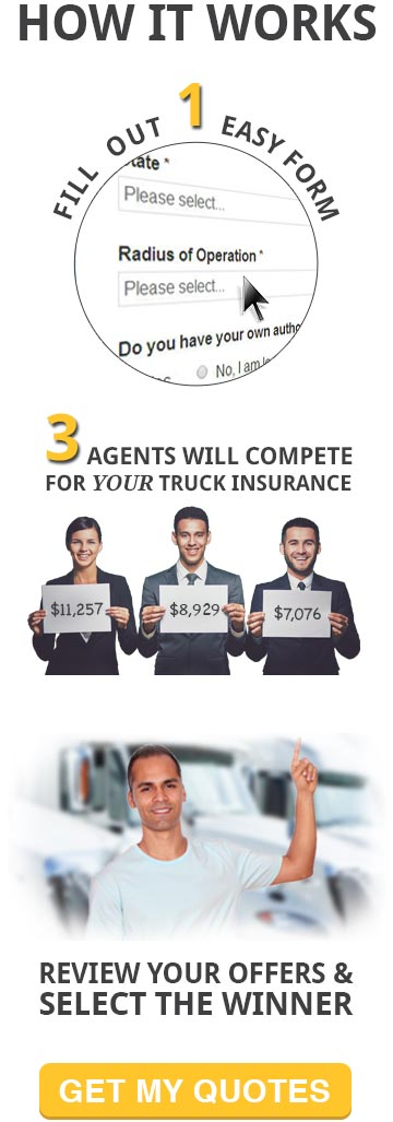 How our Semi Truck Insurance Quotes Work